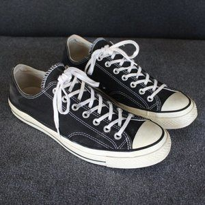 Converse Chuck 70s All Star Low Tops, Black